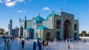 مسجد آبی - مزار شریف - کشور افغانستان - درس بیستم مطالعات اجتماعی پایه ششم ابتدایی - کلاس اینترنتی ما - مطالعه موردی - مومکا - moeka.ir